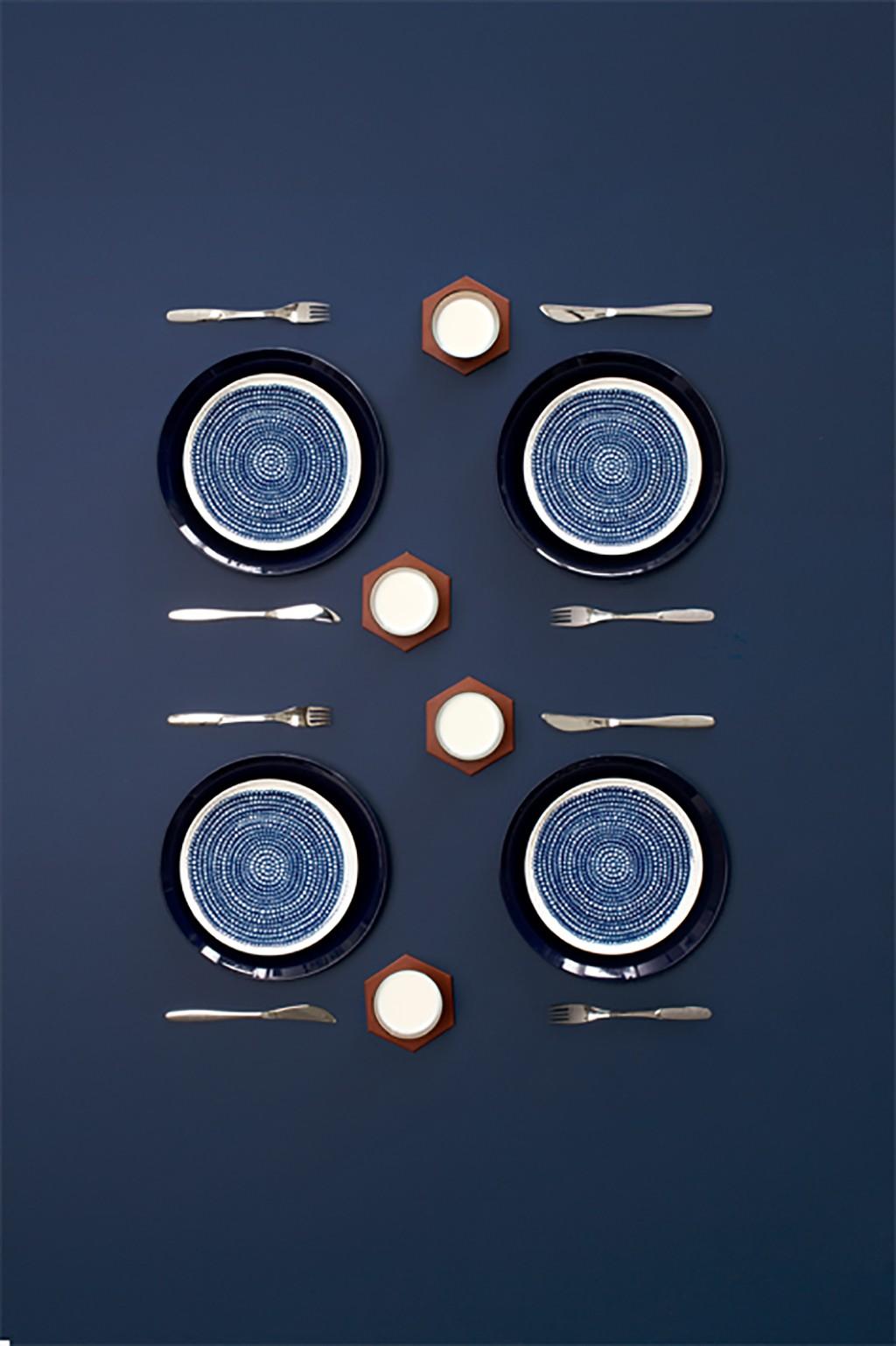 Table settings for Deko-magazine by Susanna Vento