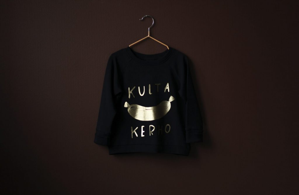 Kultanakkikerho for Papu design by Susanna Vento