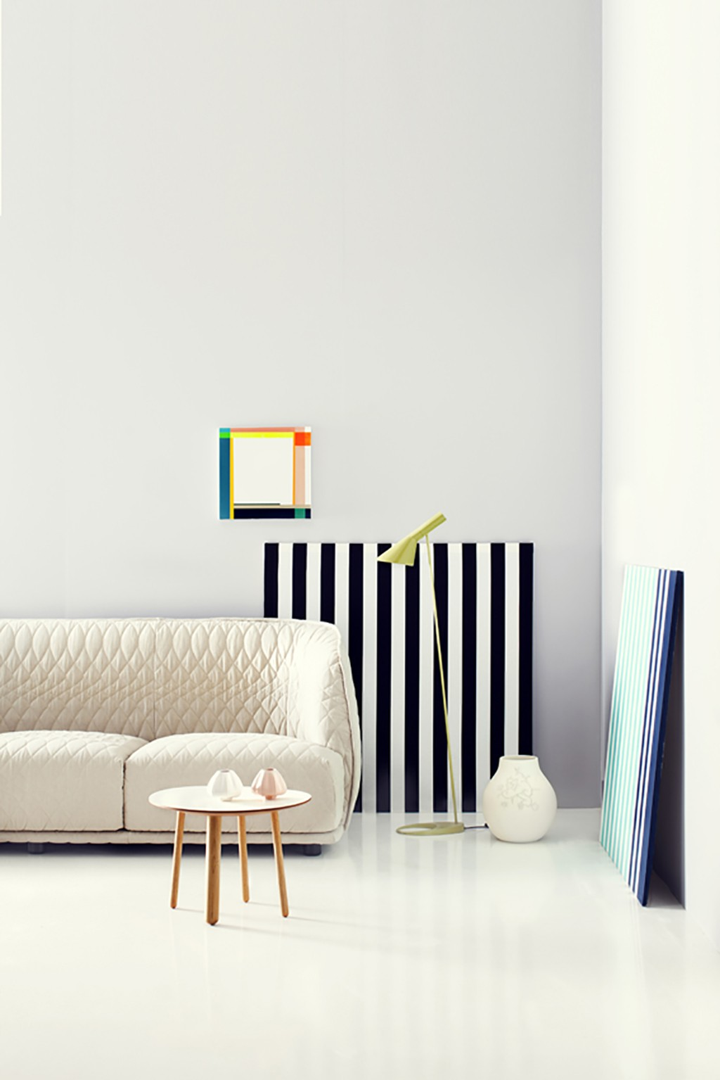 Paint and wallpaper ideas for Deko-magazine by Susanna Vento